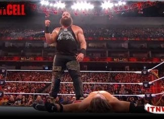 Brau Strowman Put Down AJ Styles At Hell In A Cell 2019