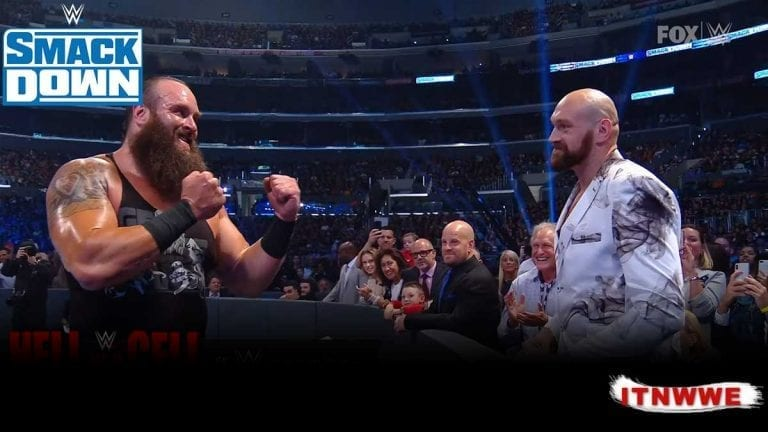 Tyson Fury to Feature on RAW After Conflict with Strowman