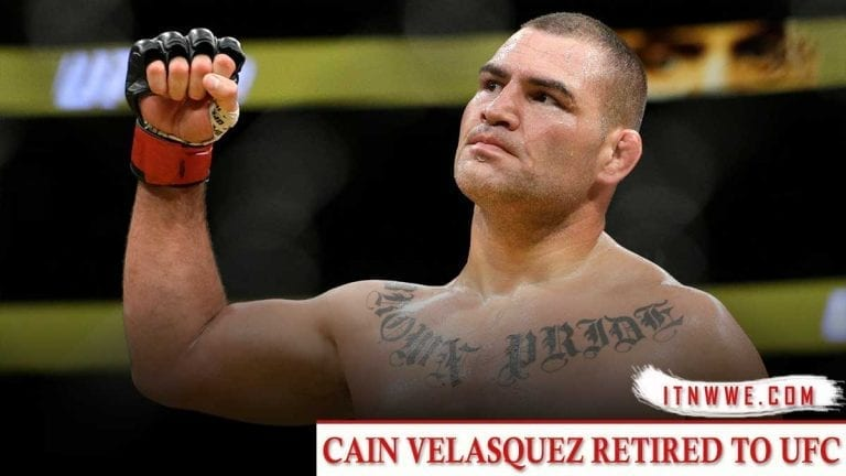 Cain Velasquez Signs Multi-Year Deal with WWE, Retire from MMA
