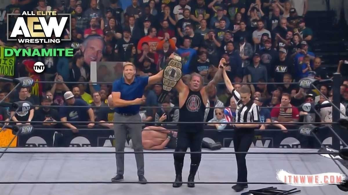 Chris Jericho Defeat Darby Allin at AEW Dynamite 16/10/19