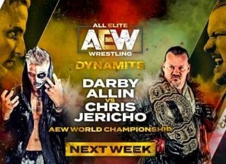 Chris Jericho vs Darby Allin AEW World Championship