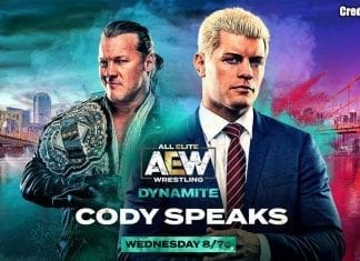 Cody To Address Inner Circle at AEW Dynamite 23 October 2019