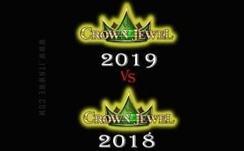 Crown Jewel 2019 vs Crown Jewel 2018