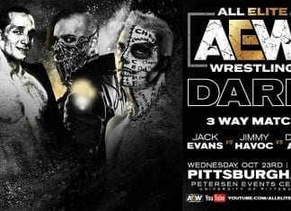 Darby Allin vs Jack Evans vs Jimmy Havoc AEW Dark 29 October 2019