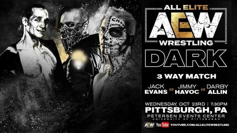 AEW Dark Matches For 29 October 2019 Announced