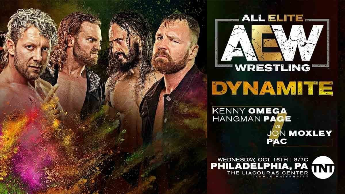 Dynamite Tag Team Match 16 October 2019