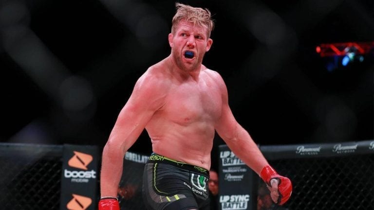 Jake Hager's Match at Bellator 231 Ends in No Contest