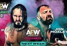 Jon Moxley vs PAC At AEW Dynamite 23-10-19