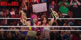 Kabuki Warriors Becomes NEw Women's Tag Team Champions at Hell In A Cell 2019