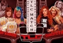 Kabuki Warriors vs Becky Lynch & Charlotte Flair WWE Women's Tag Team Championship Match at TLC 2019