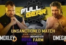 Jon Moxley vs Kenny Omega at AEW Full Gear 2019 will be an unsanctioned match.