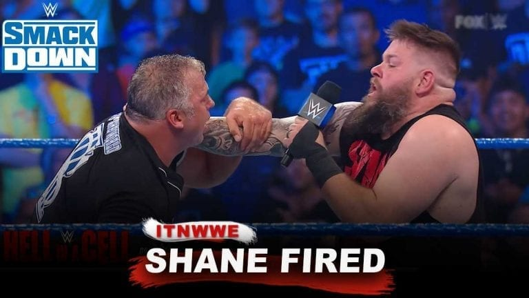 Kevin Owens Wins Ladder Match, Shane McMahon Fired from WWE