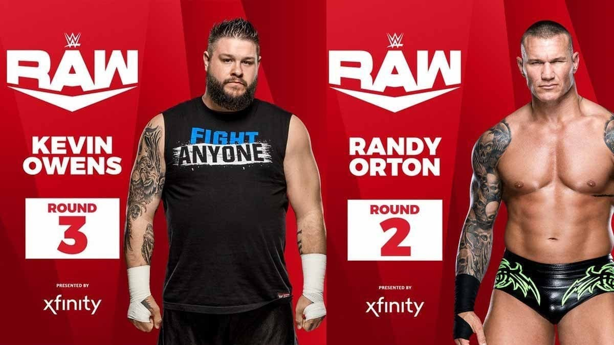 Kevin Owens & Randy Orton Moved to RAW in WWE Draft 2019