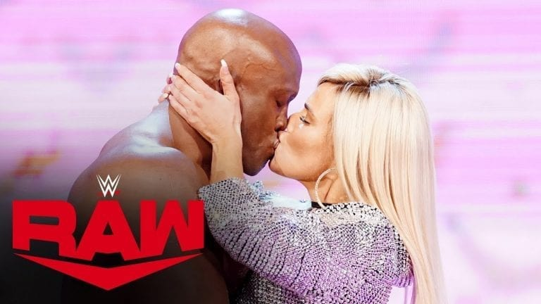Lasley & Lana Involved in a Risque Segment at RAW