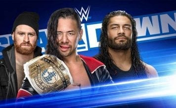 Nakamura vs Roman Reigns 18 October 2019