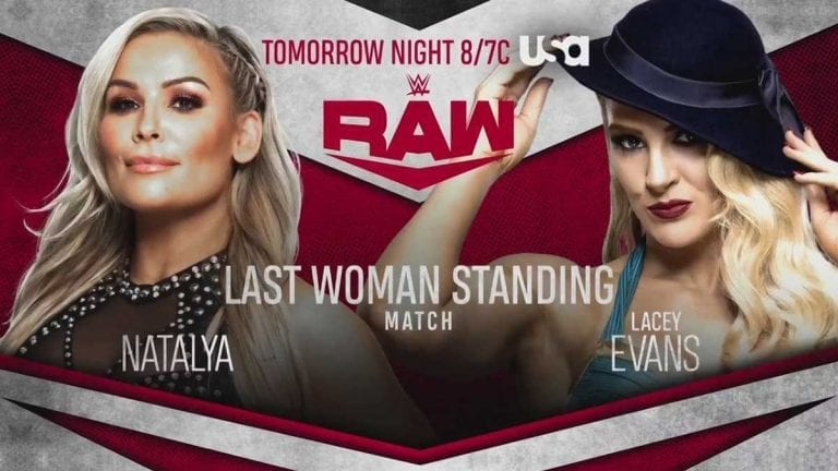 Natalya vs Lacey Evans Last Women Standing Match Booked for RAW