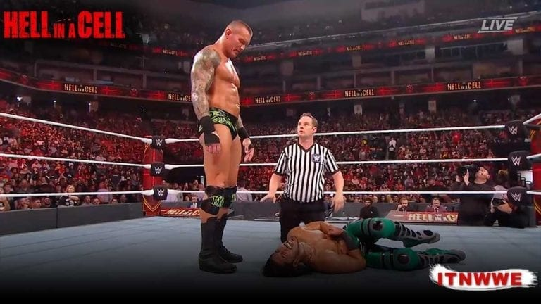Randy Orton Defeated Ali at Hell in a Cell 2019