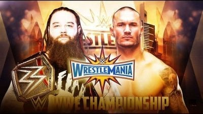 Randy Orton vs Bray Wyatt Wrestlemania 2017
