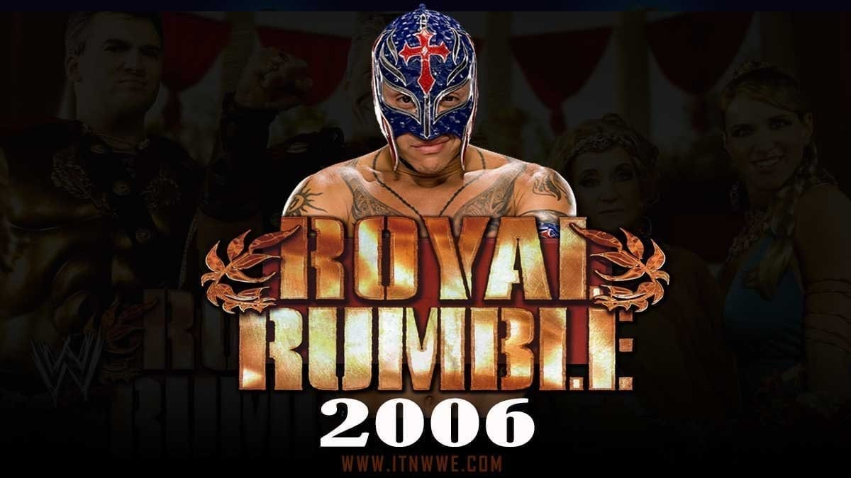 Rey mysterio Royal Rumble 2006