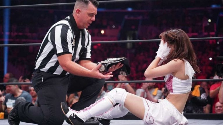 Riho Becomes First Ever AEW Women Champion