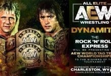 Rock N' Roll Express to present AEW Tag Team Championship Titles to the inaugural Champions