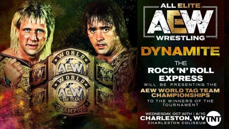 Rock N' Roll Express To Present AEW World Tag Team Titles