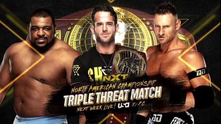 Rodrick Strong to Defend Title in a Triple Threat Match on NXT