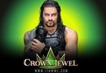 Roman Reigns Crown Jewel 2019