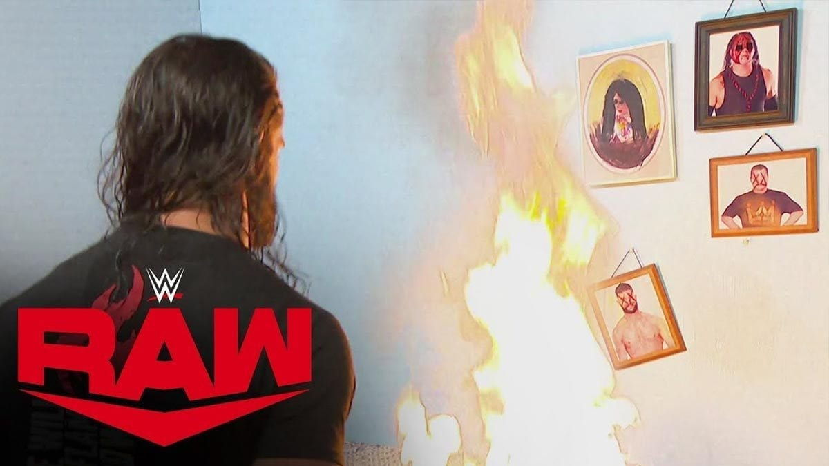 Seth Rollins Burns Down Firefly Fun House
