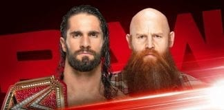 Seth Rollins vs Erick Rowan RAW 28 October 2019