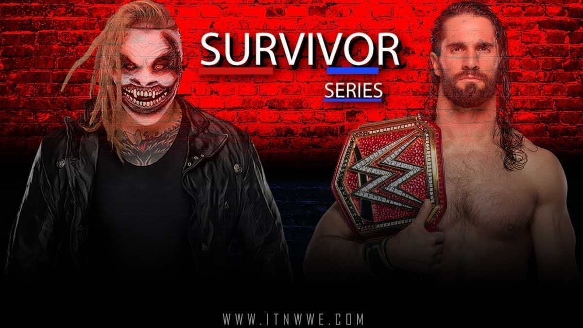Seth Rollins vs The Fiend (Bray Wyatt) WWE Survivor Series 2019