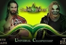 Seth Rollins vs The Fiend Universal Championship WWE Crown Jewel 2019