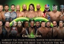 Tag Team Turmoil Match at WWE Crown Jewel 2019