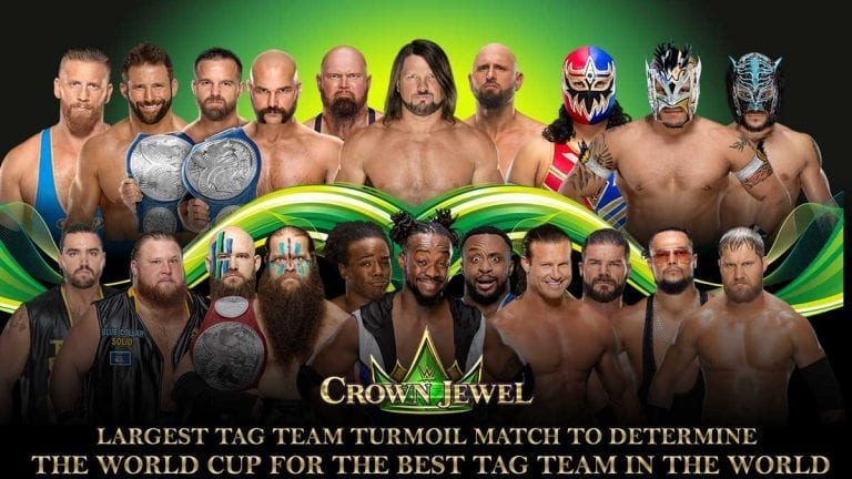 Tag Team Turmoil Fixed for World Cup at Crown Jewel 2019
