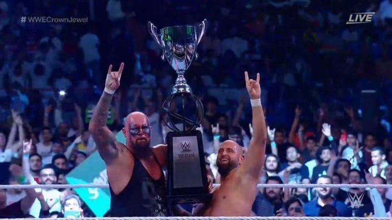 Crown Jewel 2019: The OC Wins the Tag Team World Cup