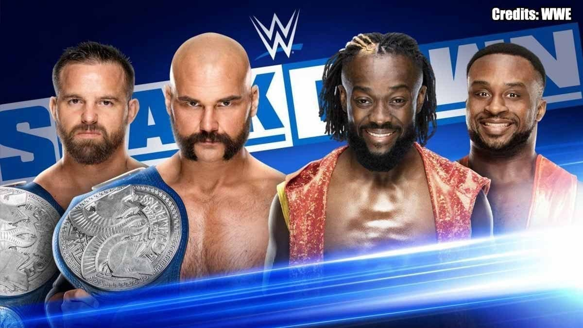 The Revival vs The New Day SmackDown 1 November 2019