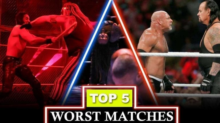 Top 5 Worst Matches Involving Top WWE Stars Since 2000