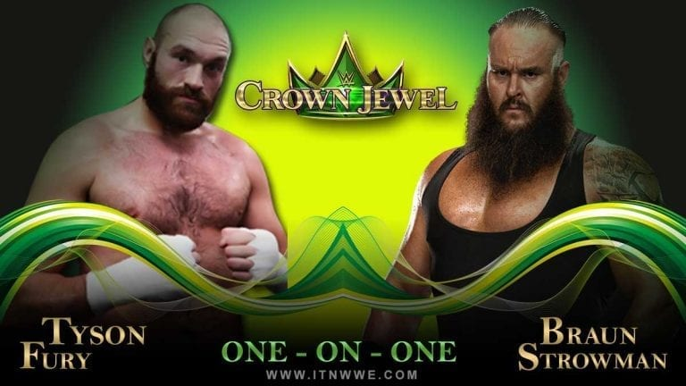Strowman vs Tyson Fury Reportedly Planned for Crown Jewel 2019