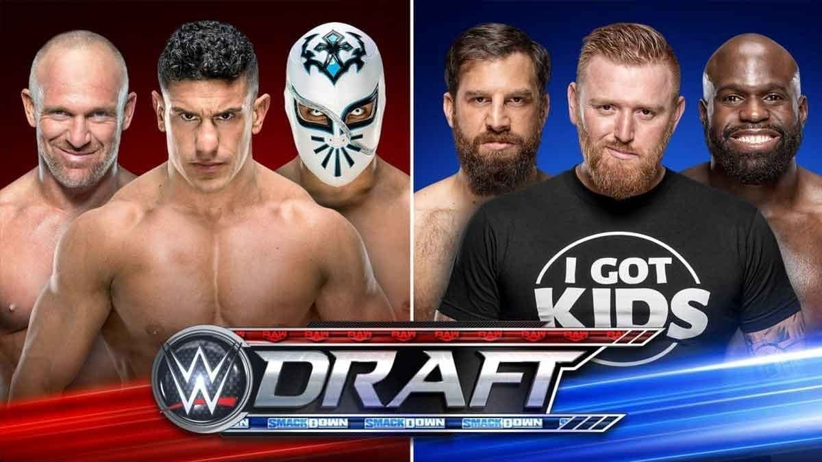 WWE Announces Open Signing from Draft 2019 Night 1