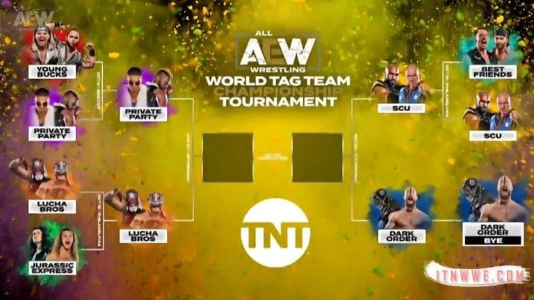 Lucha Bros & SCU Advance to Semifinals of Tag Tournament