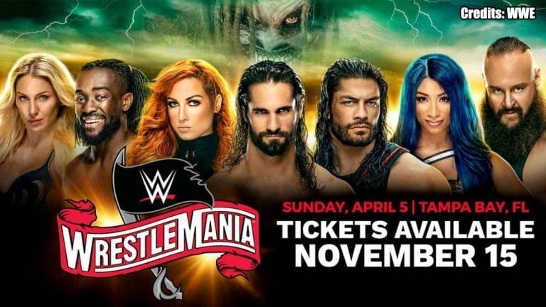 WrestleMania 36(2020) Tickets Go on Sale from 15 November