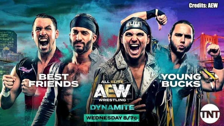 Young Bucks vs Best Friends Announced for 23 October Dynamite
