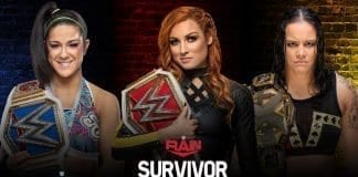 Becky Lynch vs Bayley vs Shayna Baszler at Survivor Series 2019
