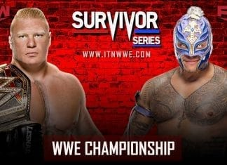 Brock Lesnar vs Rey Mysterio WWE Championship at Survivor Series 2019