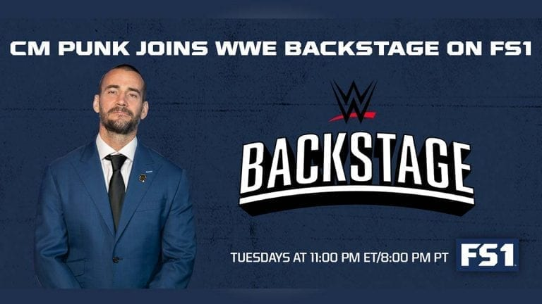 What did CM Punk Say on WWE Backstage Full Appearance?