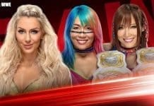 Charlotte Flair vs Asuka & Kairi Sane Handicapped Match RAW 2 December 2019