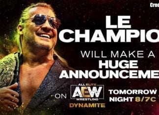 Chris Jericho Big Announcement AEW Dynamite 20 November 2019