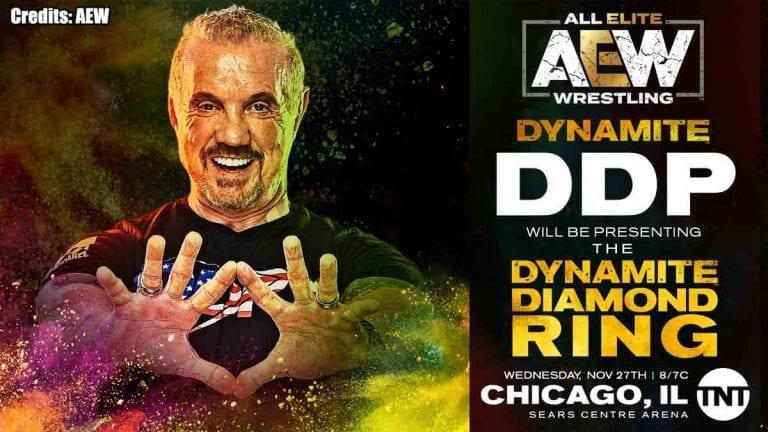 DDP To Present Diamond Ring at AEW Dynamite This Week