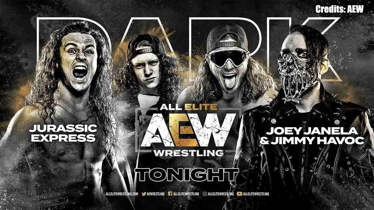Jurrasic Express AEW Dark 5 November 2019