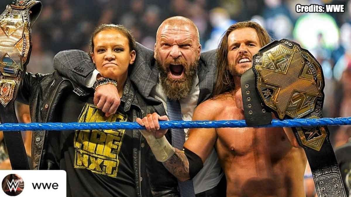 NXT Invades SmackDown 1 November 2019